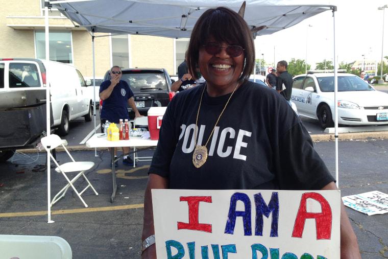 Robin Clearmountain in St. Louis, Mo., Aug. 24, 2014.