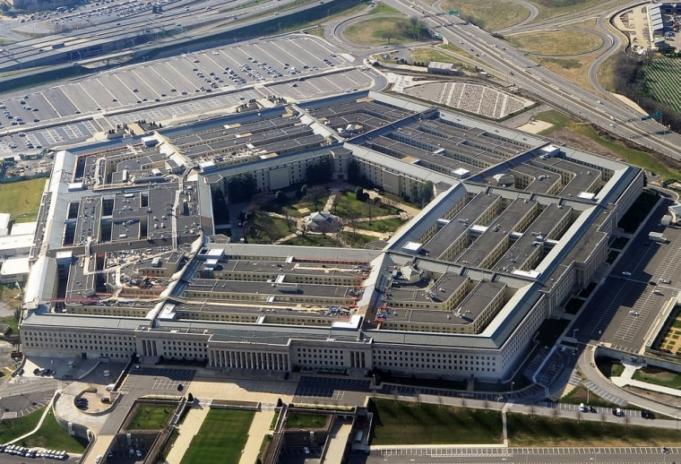 The Pentagon, the headquarters of the United States Department of Defense, Arlington County, Virginia.