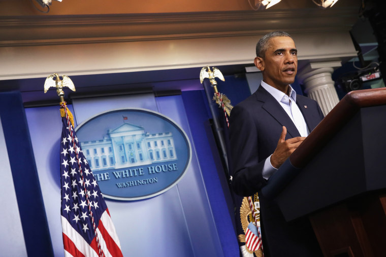President Obama Delivers Statement At The White House