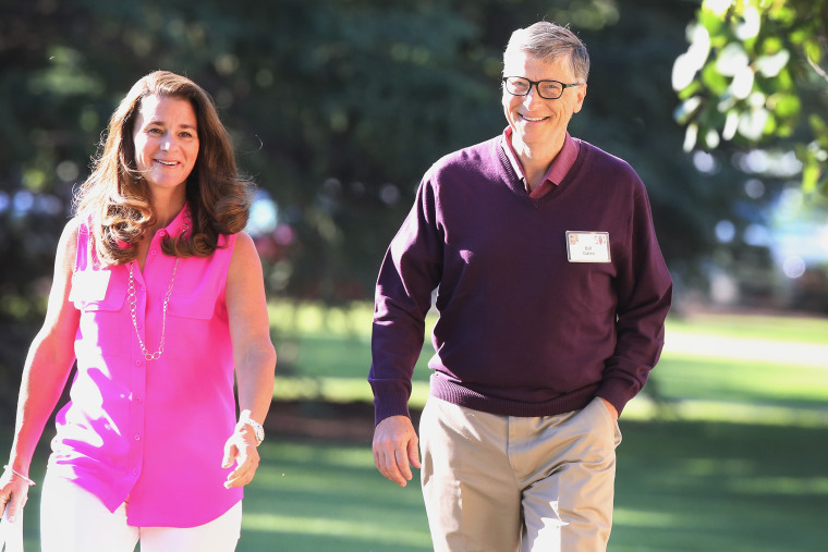 Bill and Melinda Gates attend the Allen & Company Sun Valley Conference on July 10, 2014 in Sun Valley, Idaho.