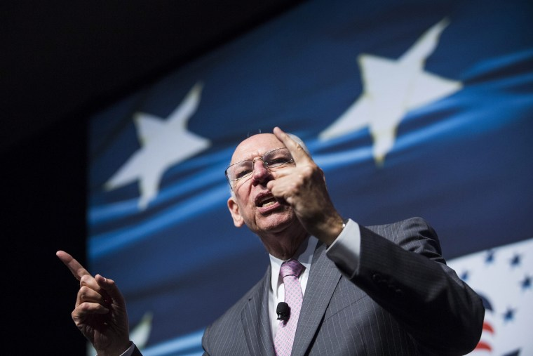 """Rafael Cruz, father of U.S. Senator Ted Cruz, speaks during the Faith and Freedom Coalition's \""""Road to Majority\"""" conference in Washington, Friday, June 20, 2014."""