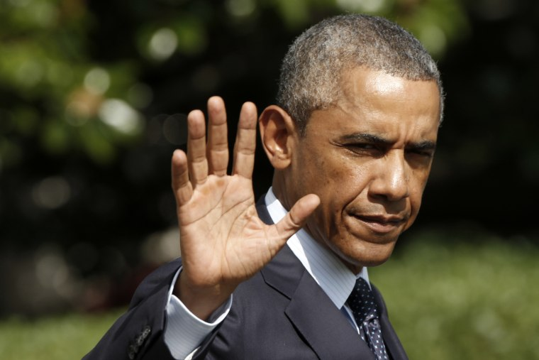 President Obama departs Washington for a trip to Estonia and Wales