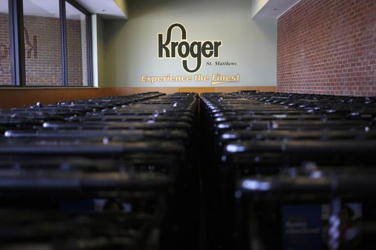 Inside A Kroger Store Ahead Of Earnings Figures