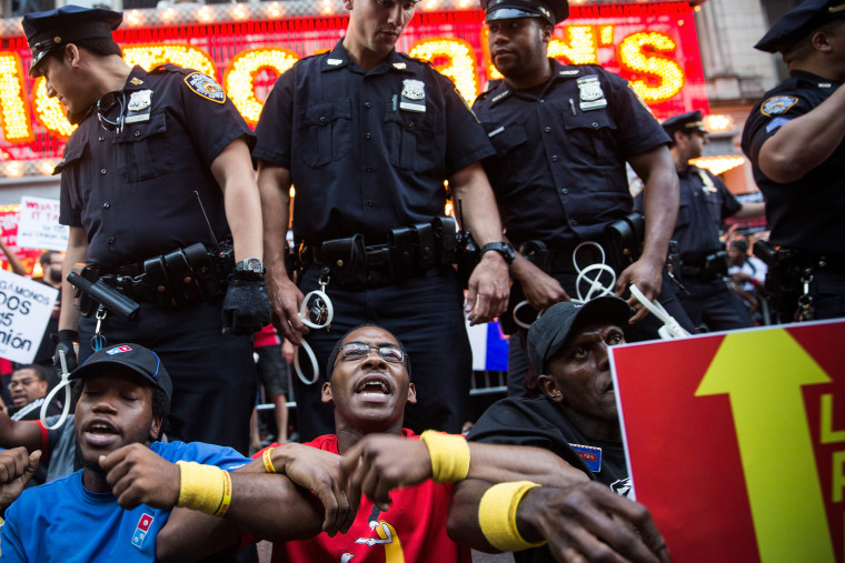 Fast Food Workers Organize National Day To Strike For Higher Wages