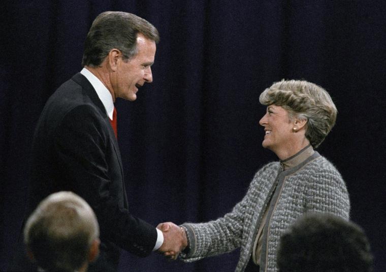 George H. Bush, Geraldine Ferraro