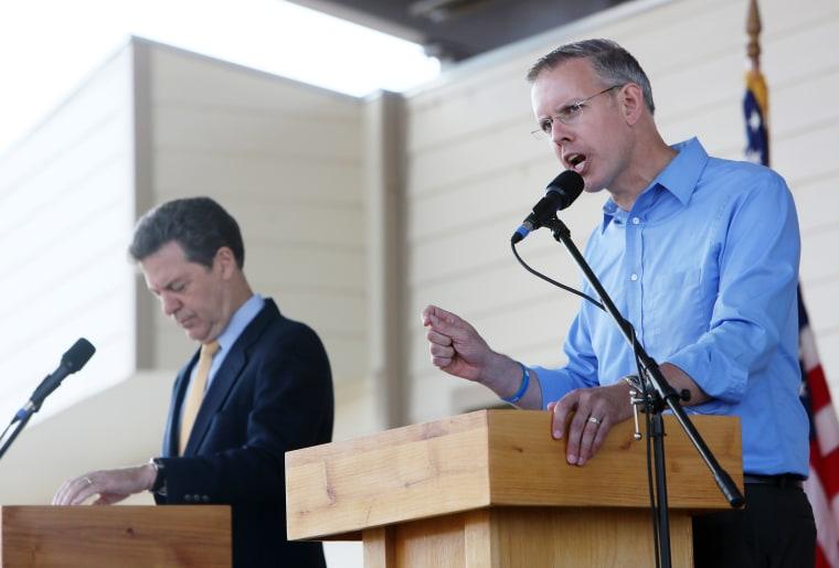 Kansas State Fair Gubernatorial Debate