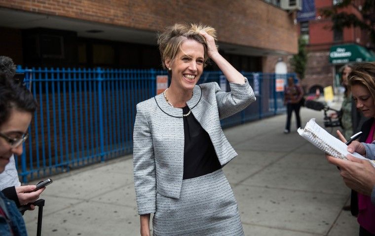 Challenger To Gov. Cuomo In State Primary, Zephyr Teachout Greets Voters