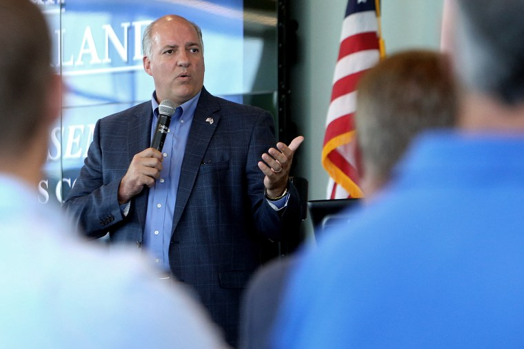 U.S. Rep. Steve Southerland, (R-FL) speaks during the National Small Business Defense Contracting Summit at Gulf Coast State College in Panama City, Fla., on Aug. 25, 2014. (Andrew Wardlow/The News Herald/AP)