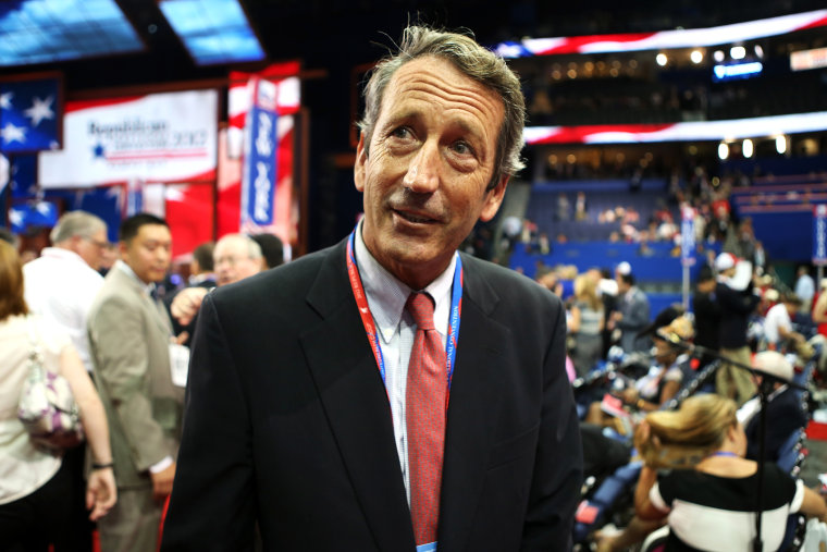 Mark Sanford at the Republican National Convention at the Tampa Bay Times Forum on Aug. 28, 2012 in Tampa, Fla. Photo by Chip Somodevilla/Getty