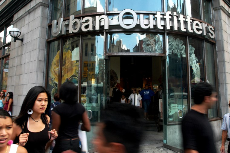 An Urban Outfitters in Manhattan.