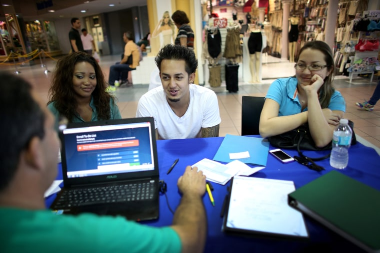 Number Of People Signing Up In November On New Healthcare System Doubles Oct. Number