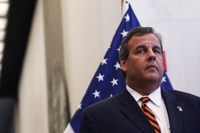 New Jersey Governor Chris Christie attends a news conference in New York, N.Y. on Sept. 15, 2014. (Photo by Shannon Stapleton/Reuters)