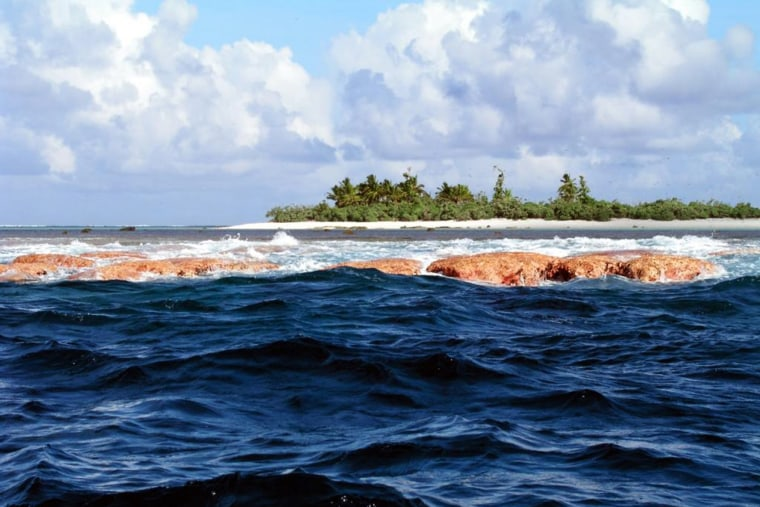 Rose Island, seen here, is part of three remote and uninhabited Pacific island chains that are protected from oil and gas extraction and commercial fishing.