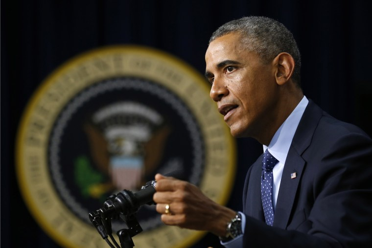 U.S. President Barack Obama speaks at the  Global Health Security Agenda Summit at the White House in Washington September 26, 2014.