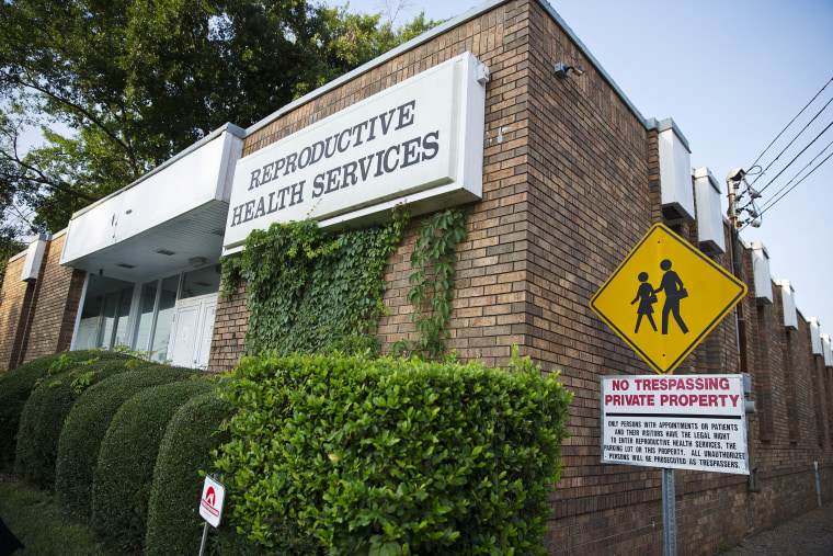 Reproductive Health Services is shown in Montgomery, Ala., July 30, 2014.