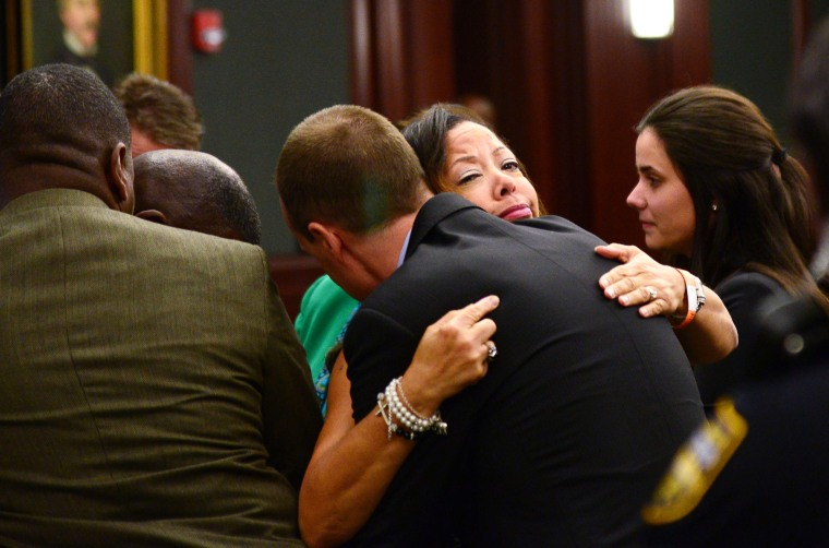 Lucia McBath, mother of Jordan Davis, at the Duval County Courthouse in Jacksonville, Fla., Wednesday, Oct. 1, 2014.