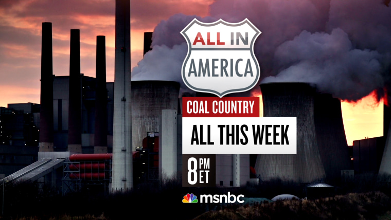 All In America: Coal Country 8:00 pm ET