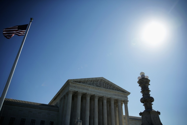 The U.S. Supreme Court is seen October 6, 2014 in Washington, DC.