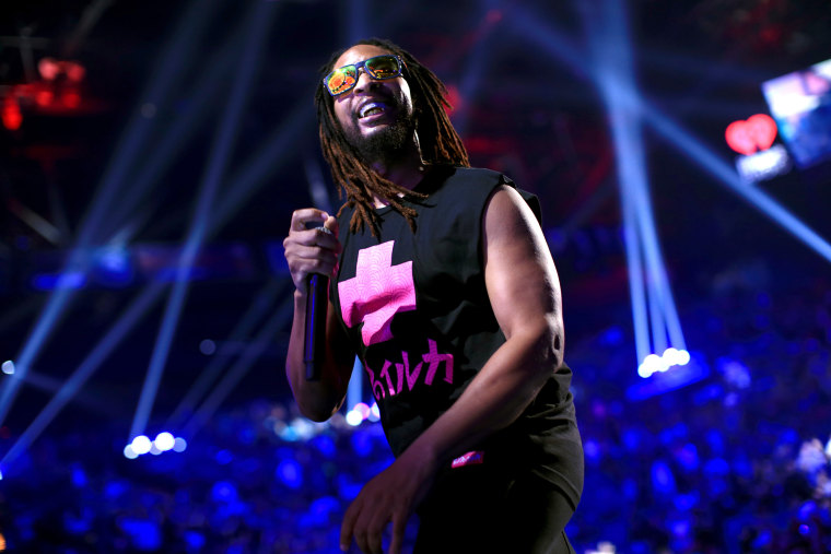 Rapper Lil Jon performs onstage during the 2014 iHeartRadio Music Festival at the MGM Grand Garden Arena on Sept. 20, 2014 in Las Vegas, Nevada.