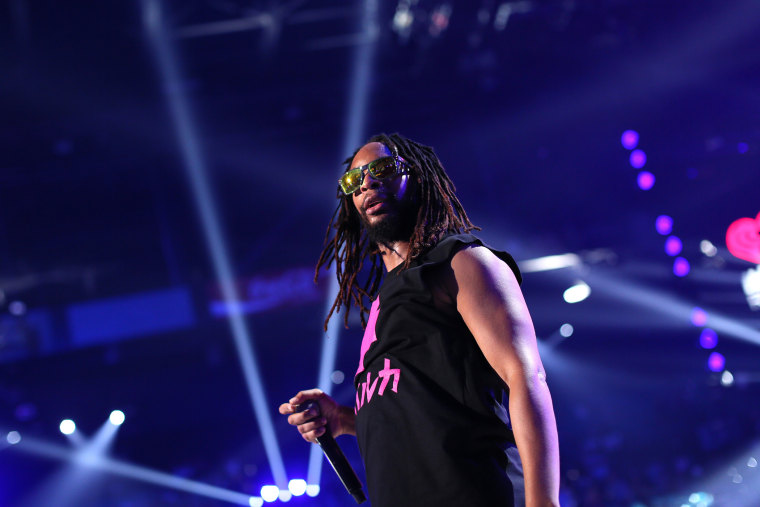 Recording artist Lil Jon performs onstage during the 2014 iHeartRadio Music Festival at the MGM Grand Garden Arena on September 20, 2014 in Las Vegas, Nevada.