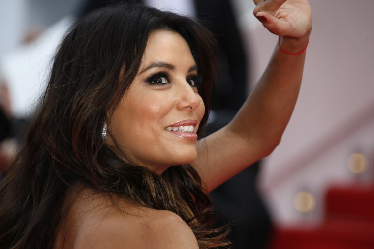 US actress and director Eva Longoria in France in May 17, 2014.