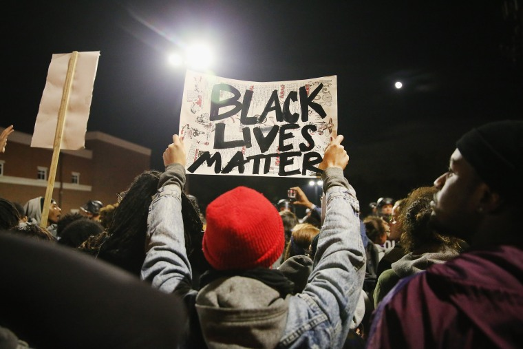 Activists Protest For Justice After Police Shootings