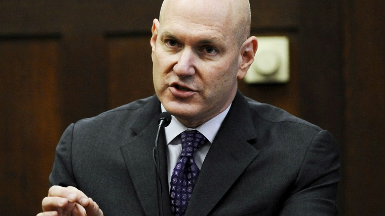 Psychiatrist Keith Ablow testified in court in Boston, Mass. on June 4, 2009.