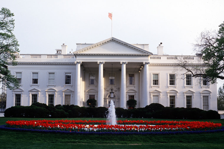 The White House in Washington, D.C. in 1993.