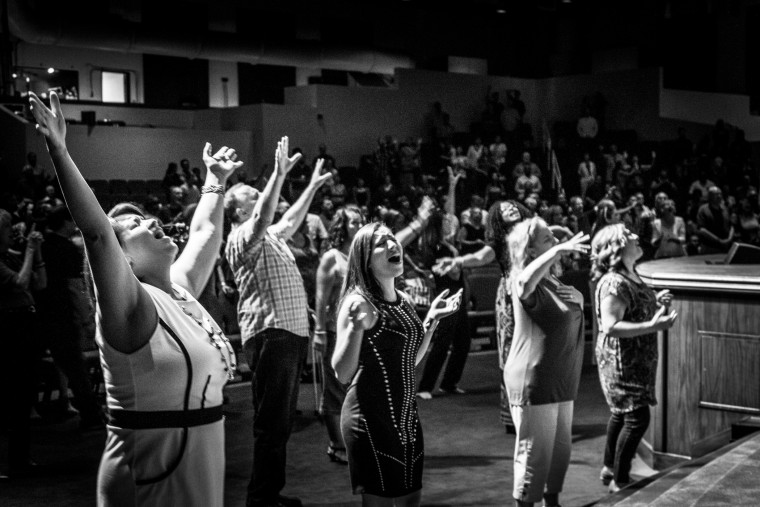 Services at the International Church of Las Vegas (ICLV). The congregation totals about 10,000 members.