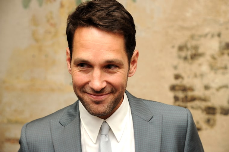 """Actor Paul Rudd attends the \""""They Came Together\"""" screening during theBAMcinemaFest 2014 at BAM Harvey Theater on June 23, 2014 in New York, N.Y. (Photo by Ilya S. Savenok/Getty)"""