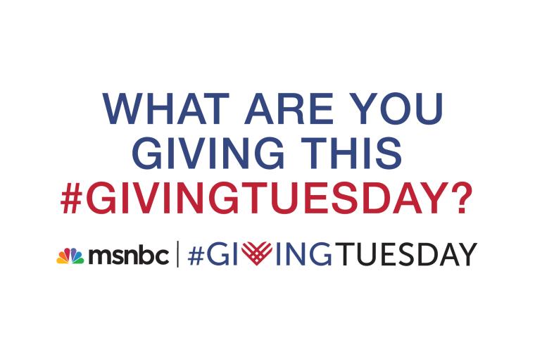 msnbc #givingtuesday