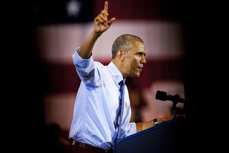 President Barack Obama speaks during an event on Oct. 28, 2014 in Milwaukee, Wis. (Photo by Darren Hauck/Getty)