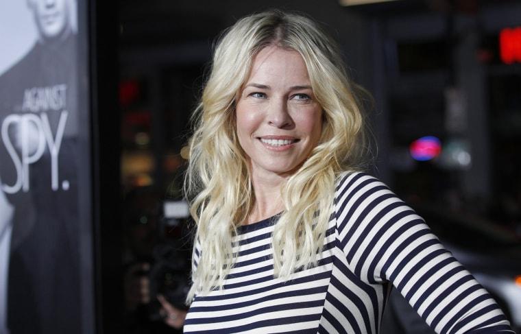 Chelsea Handler in Hollywood, Calif. on Feb. 8, 2012.