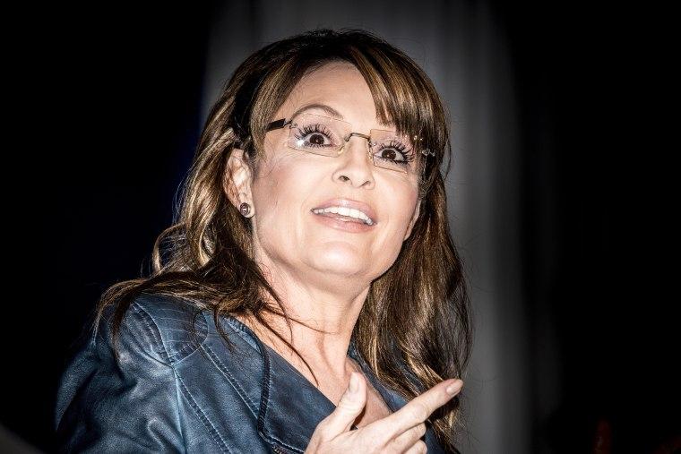 Sarah Palin, former Governor of Alaska speaks at the  2014 Values Voter Summit in Washington on Sept. 26, 2014.