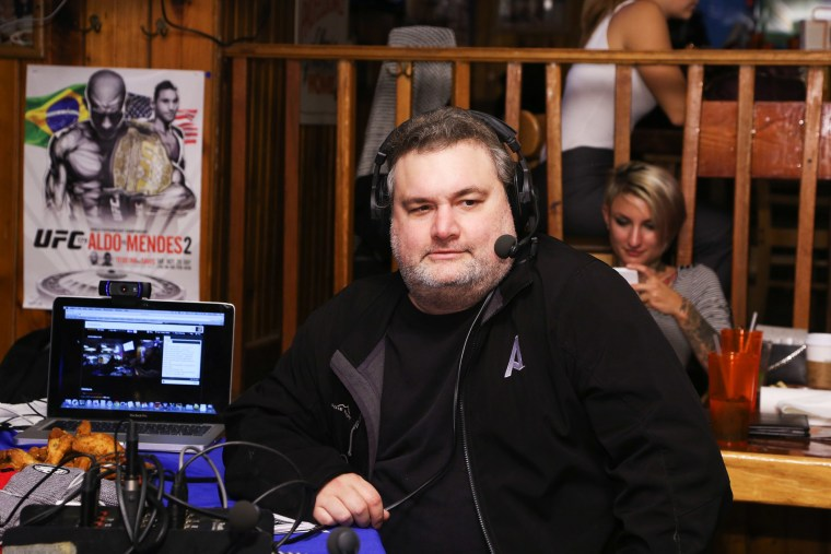 Comedian Artie Lange visits SiriusXM's The Jason Ellis Show Live From Hooters In New York on Oct. 22, 2014 in New York, N.Y.