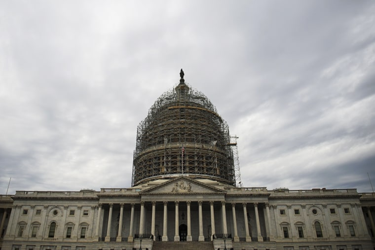The US Capitol is seen in Washington, D.C. on Nov. 5, 2014.