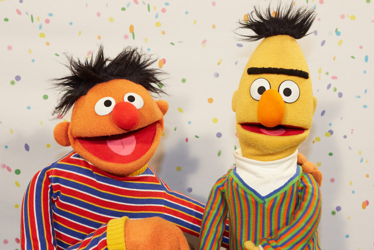 Ernie and Bert, photographed in 2013.
