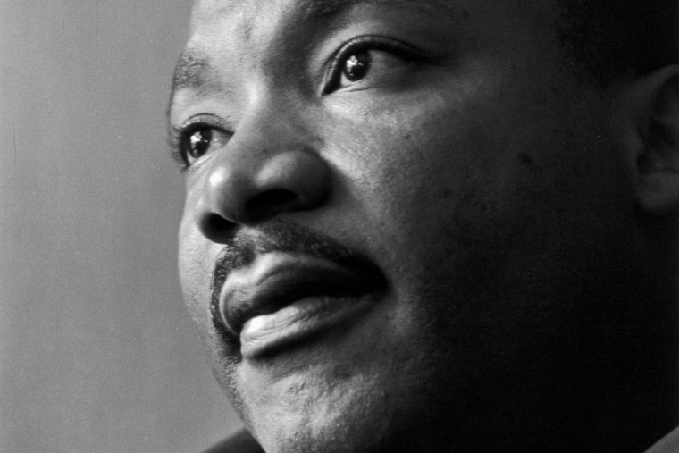 Martin Luther King Jr., photographed in 1964.