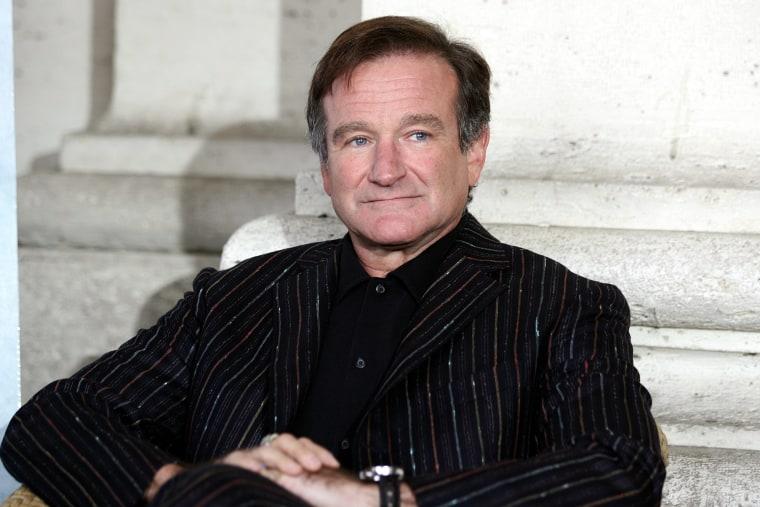 Actor and comedian Robin Williams pictured Nov. 11, 2005 in Rome, Italy. (Tatti Fabi/Camera Press/Redux)