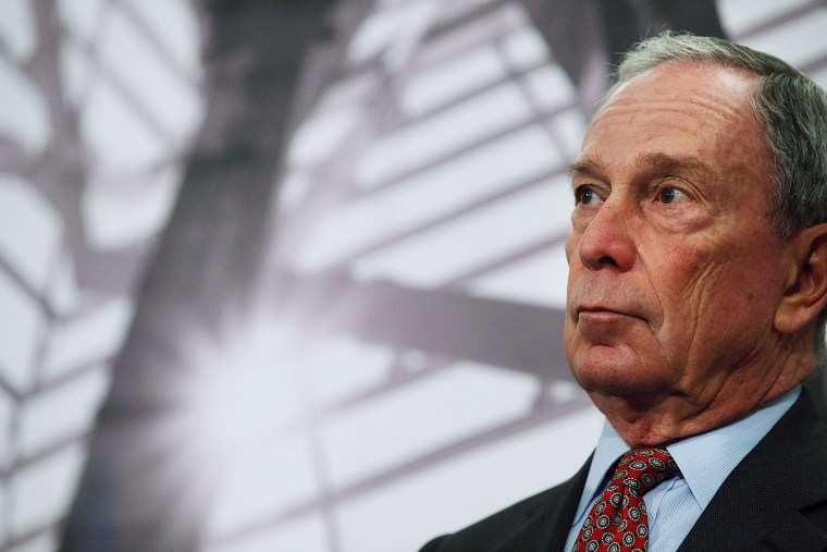 NFormer New York Mayor Michael Bloomberg speaks at a news conference at the September 11 Memorial Museum on May 14, 2014 in New York City. (Spencer Platt/Getty)