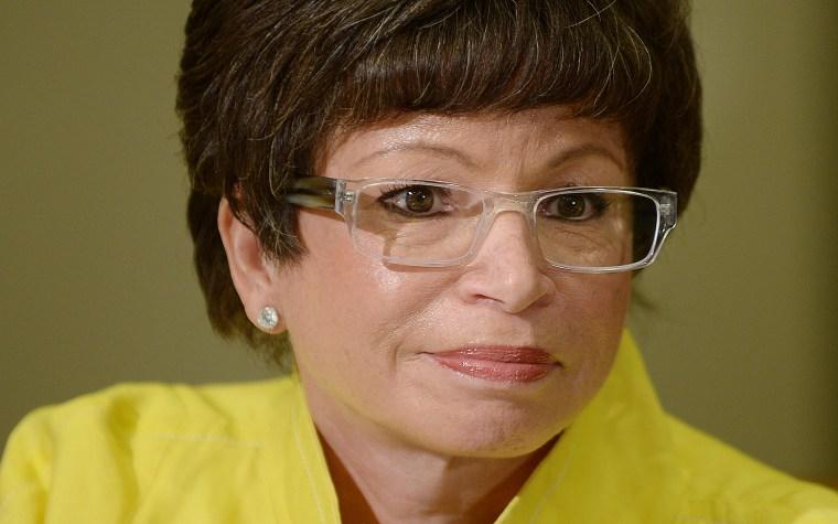 Senior Advisor to the President Valerie Jarrett at the White House on May 30, 2014 in Washington, DC.
