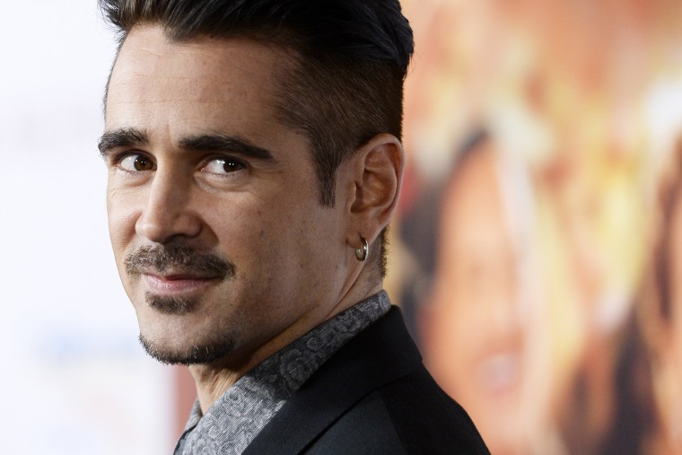 Actor Colin Farrell attends the film premiere of Saving Mr. Banks at the Walt Disney Studios in Burbank