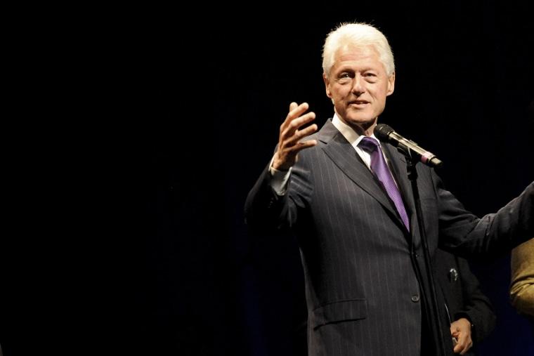 President Bill Clinton speaks in Los Angeles on Nov. 9, 2014.