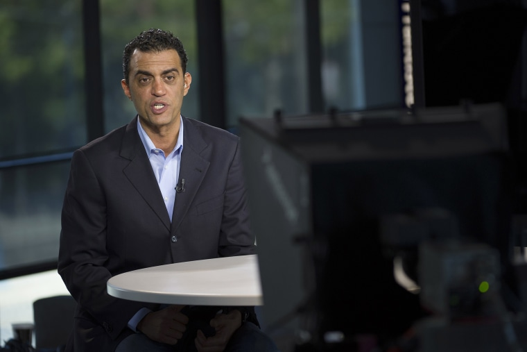 Emil Michael, senior vice president of business for Uber Technologies Inc., speaks during a Bloomberg Television interview in San Francisco, Calif. on July 29, 2014
