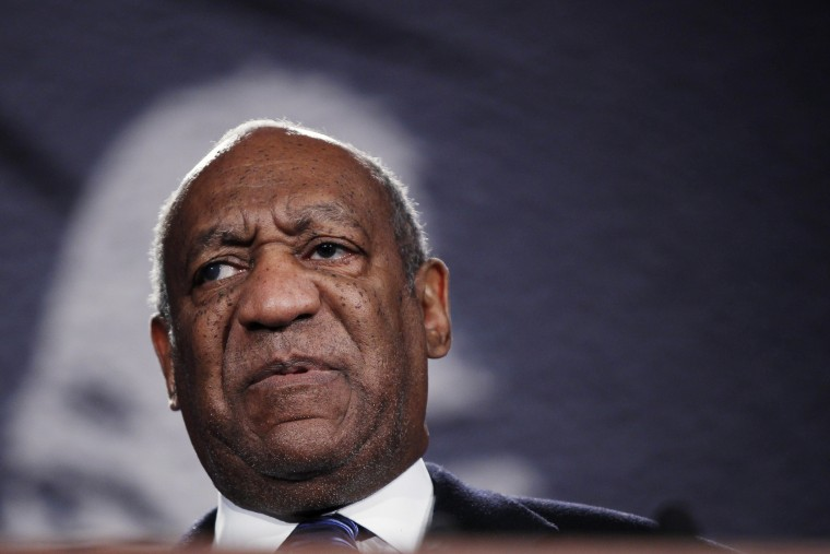 Actor Bill Cosby speaks at the National Action Network's 20th annual Keepers of the Dream Awards gala in New York on April 6, 2011.