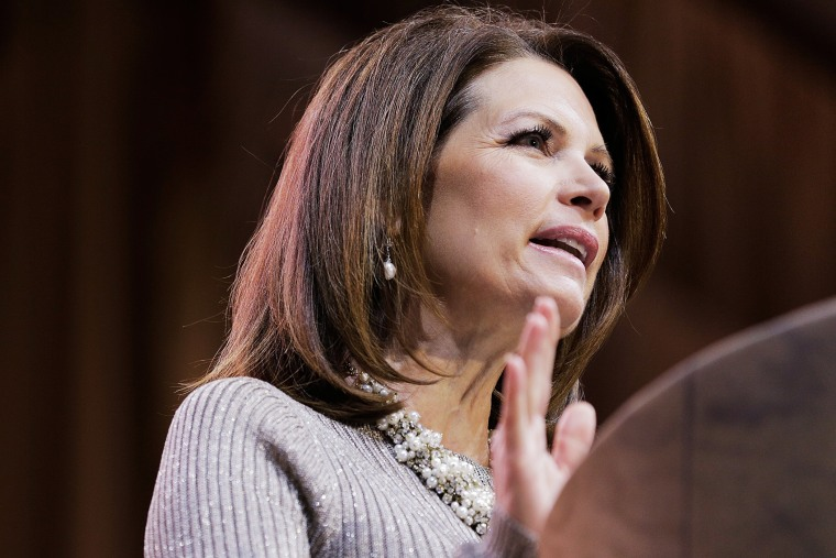 Rep. Michele Bachmann (R-Minn.) speaks during the 41st annual Conservative Political Action Conference on March 8, 2014 in National Harbor, Md. (Photo by T.J. Kirkpatrick/Getty)