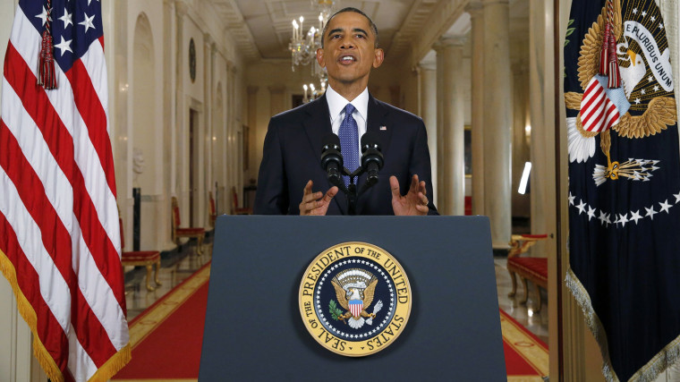 U.S. President Barack Obama announces executive actions on U.S. immigration policy during a nationally televised address from the White House in Washington, November 20, 2014. (Photo by Jim Bourg/Pool/Reuters)