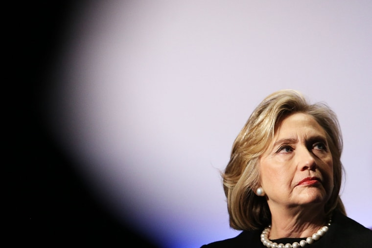 Hillary Rodham Clinton attends the Cookstoves Future Summit on Nov. 21, 2014 in New York City. (Spencer Platt/Getty)