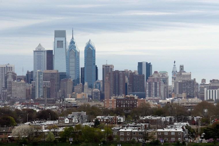 A view of the Philadelphia city skyline on April 25, 2014 in Philadelphia, Penn. (Bruce Bennett/Getty)