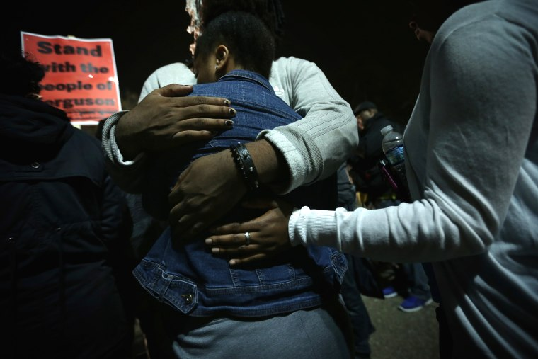 Hundreds Rally In DC After Grand Jury Decision In Michael Brown Shooting